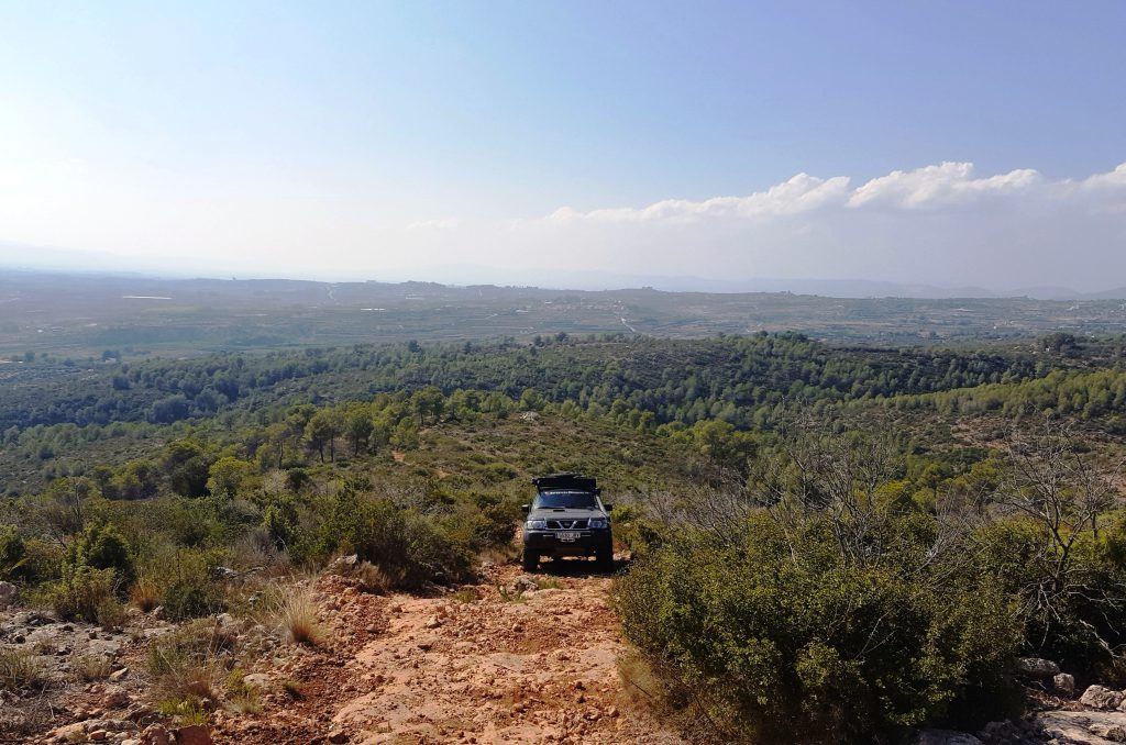 Spanien Nord-Süd 4x4 Expedition