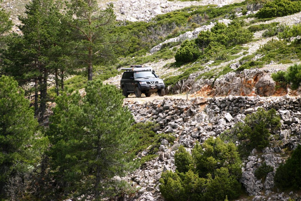 Spanien 4x4 Off Road Touren