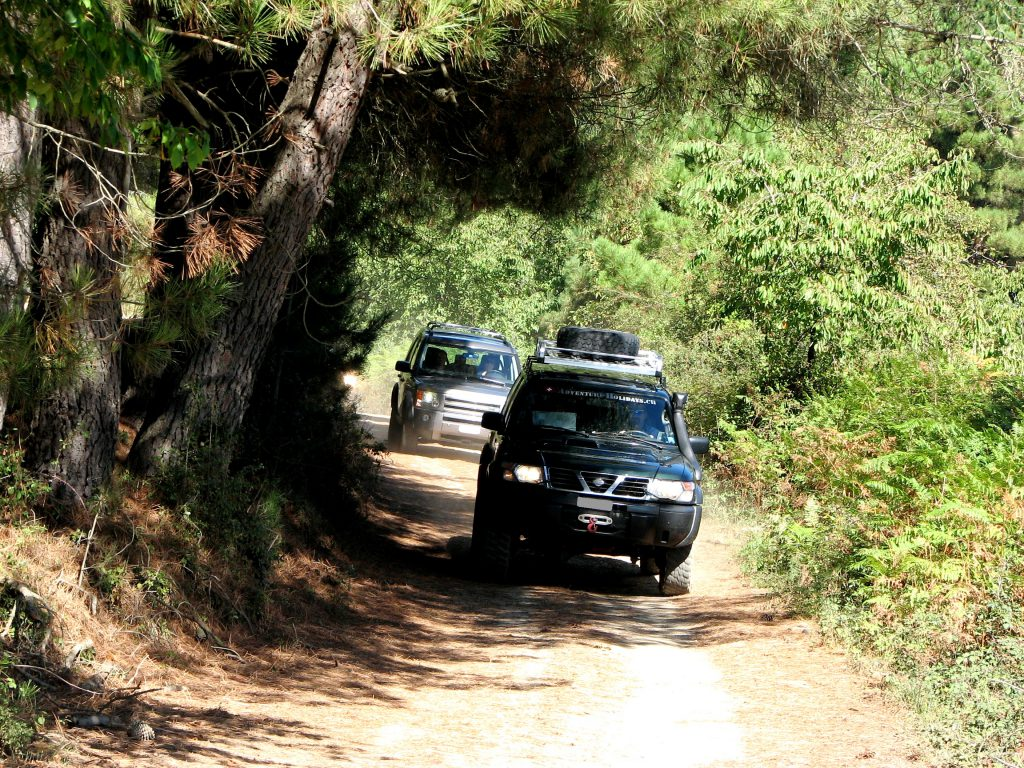 4x4 Sardinien Off Road Reise