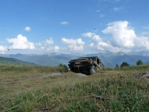 4x4 Westalpen Off Road Reise